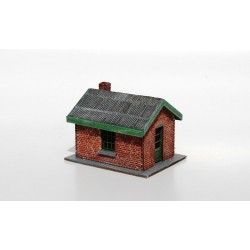 Grade crossing house