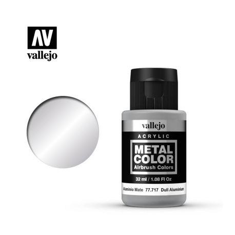 VAL77717 Vallejo Dull Aluminium 32ml