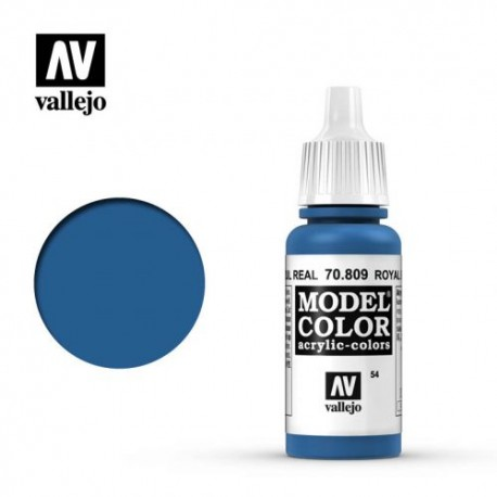 VAL70809 Vallejo Royal Blue 17ml