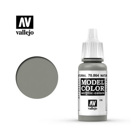 VAL70864 Vallejo Natural Steel 17ml