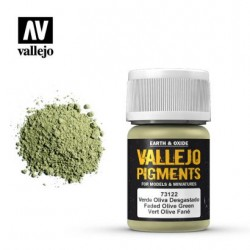 VAL73122 Vallejo Pigment faded olive green 35ml