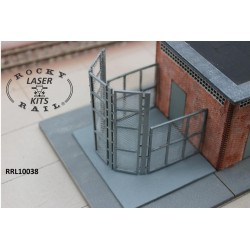 Fences for NS electrical substations