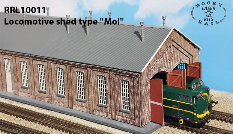 """RRL10011: Remise à locomotive type """"Mol"""""""