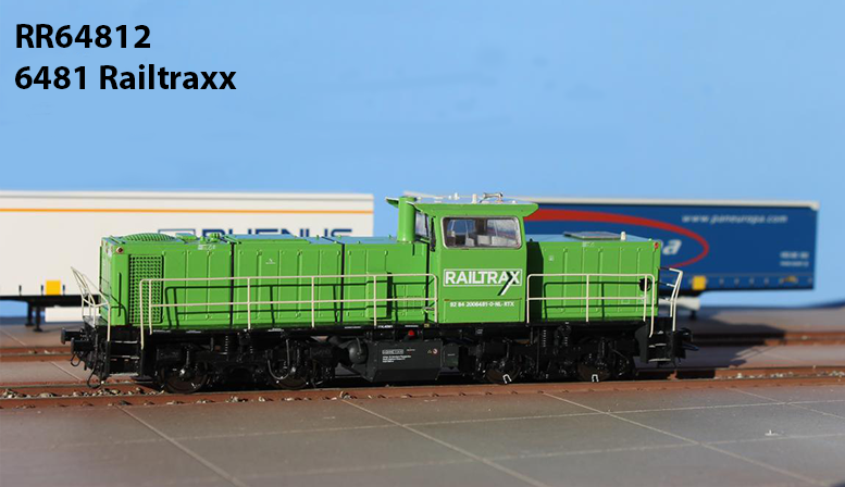 RR64812: 6481 Railtraxx DC Digital