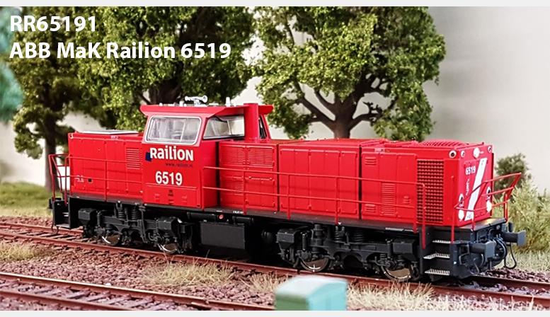 RR65191: ABB MaK Railion 6519
