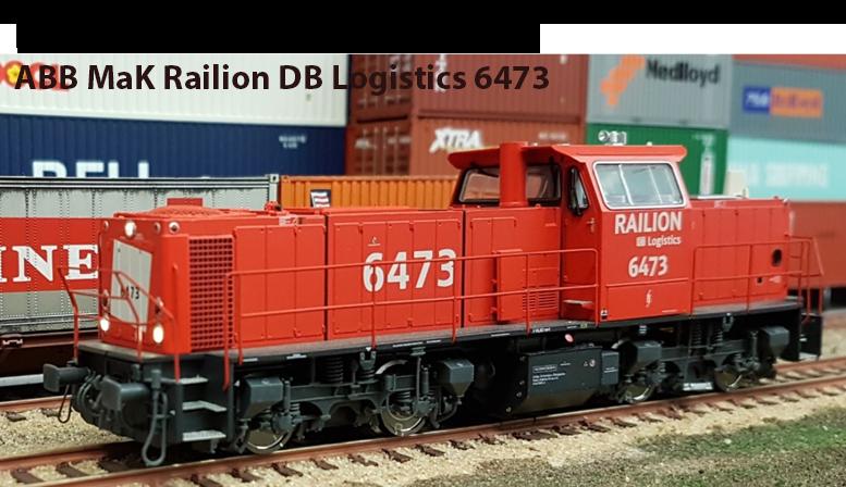 RR64731: ABB MaK Railion DB Logistics 6473