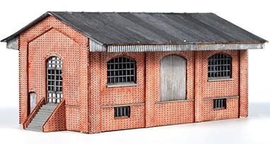 Goods shed 3 bays